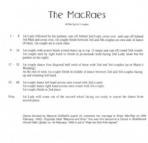 4. The MacRaes