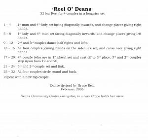 6. Reel O' Deans
